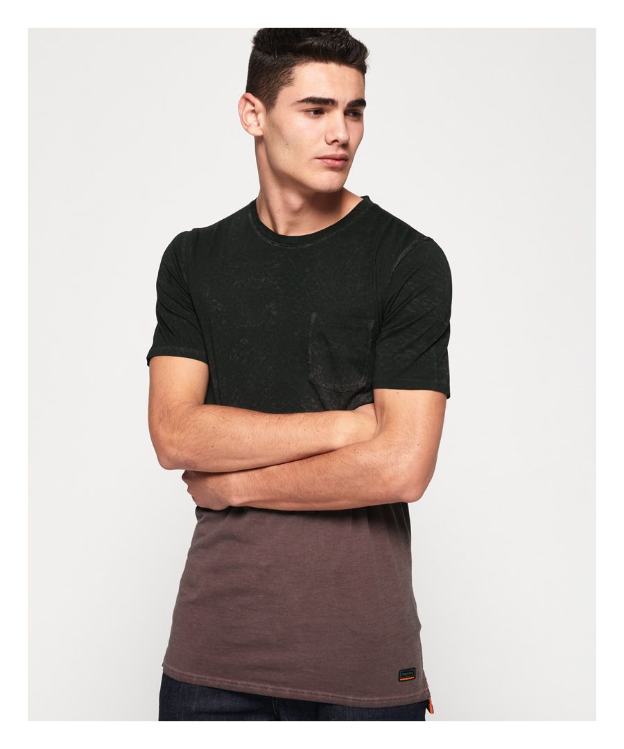 Image for Superdry Hoxton Wash Longline T-Shirt