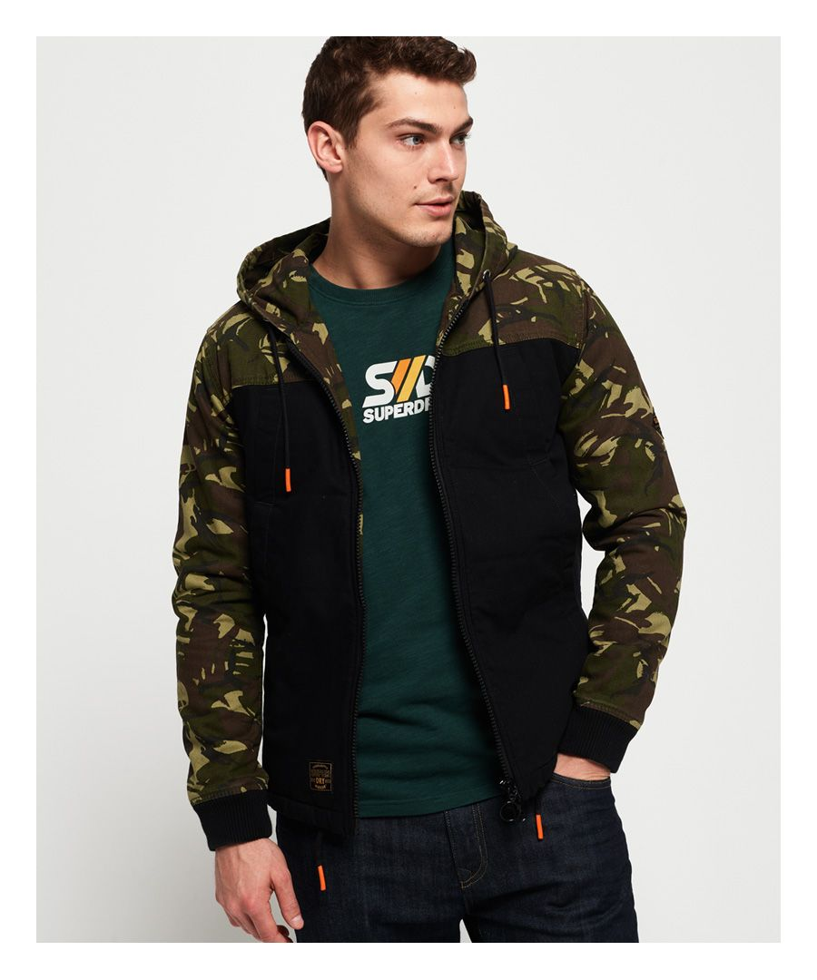 Image for Superdry Hooded Worker Jacket