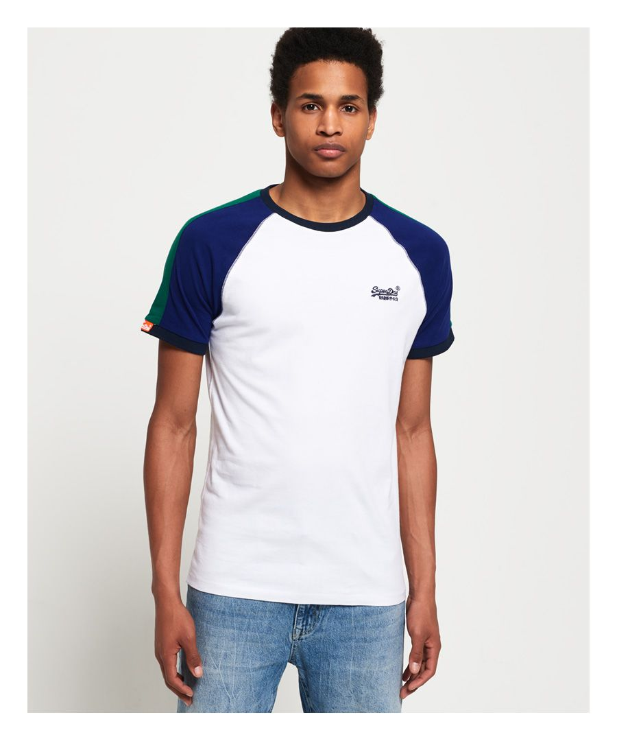 Image for Superdry Organic Cotton Racer Cut & Sew Ringer T-Shirt