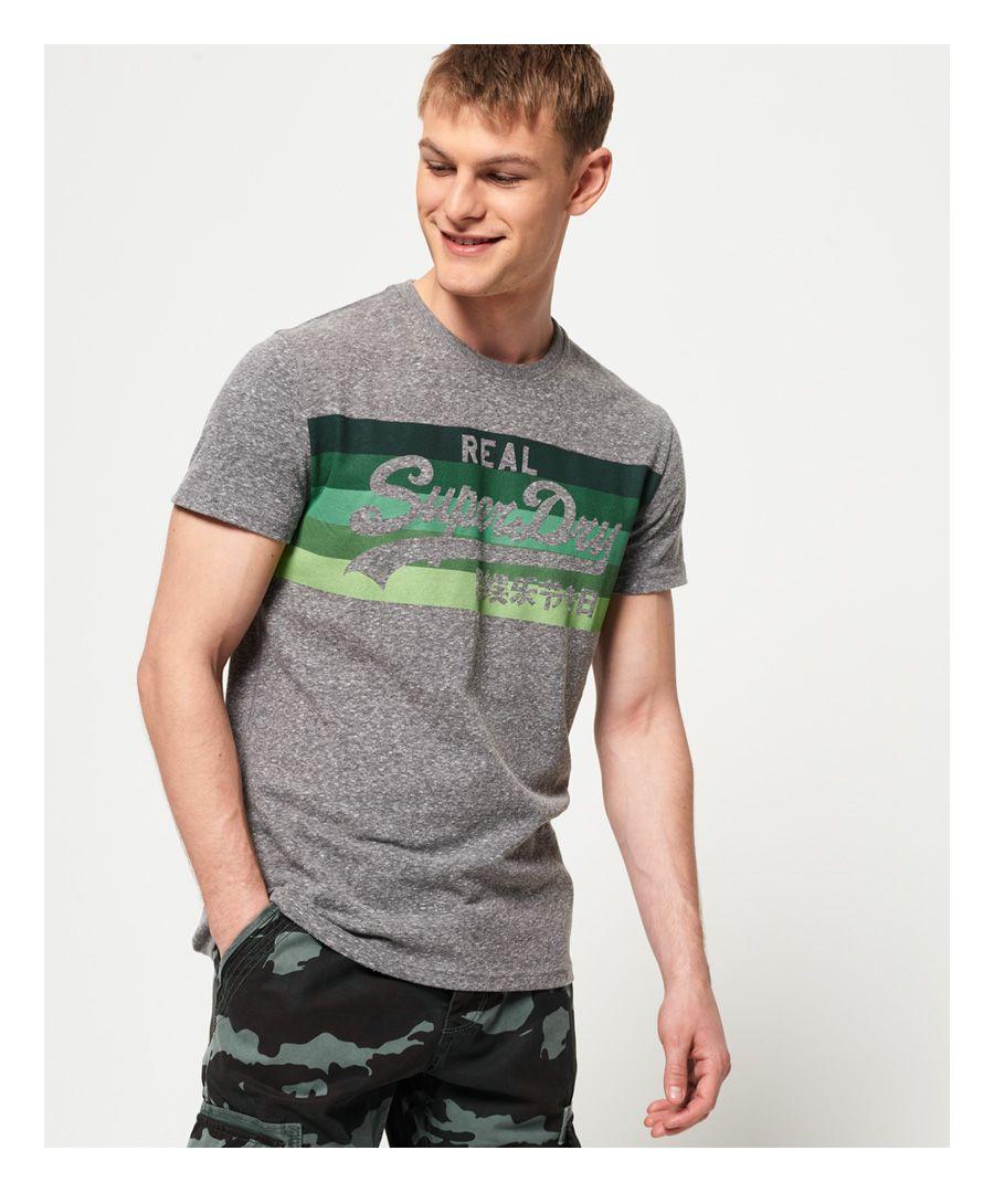 Image for Superdry Vintage Logo Cali Stripe T-Shirt