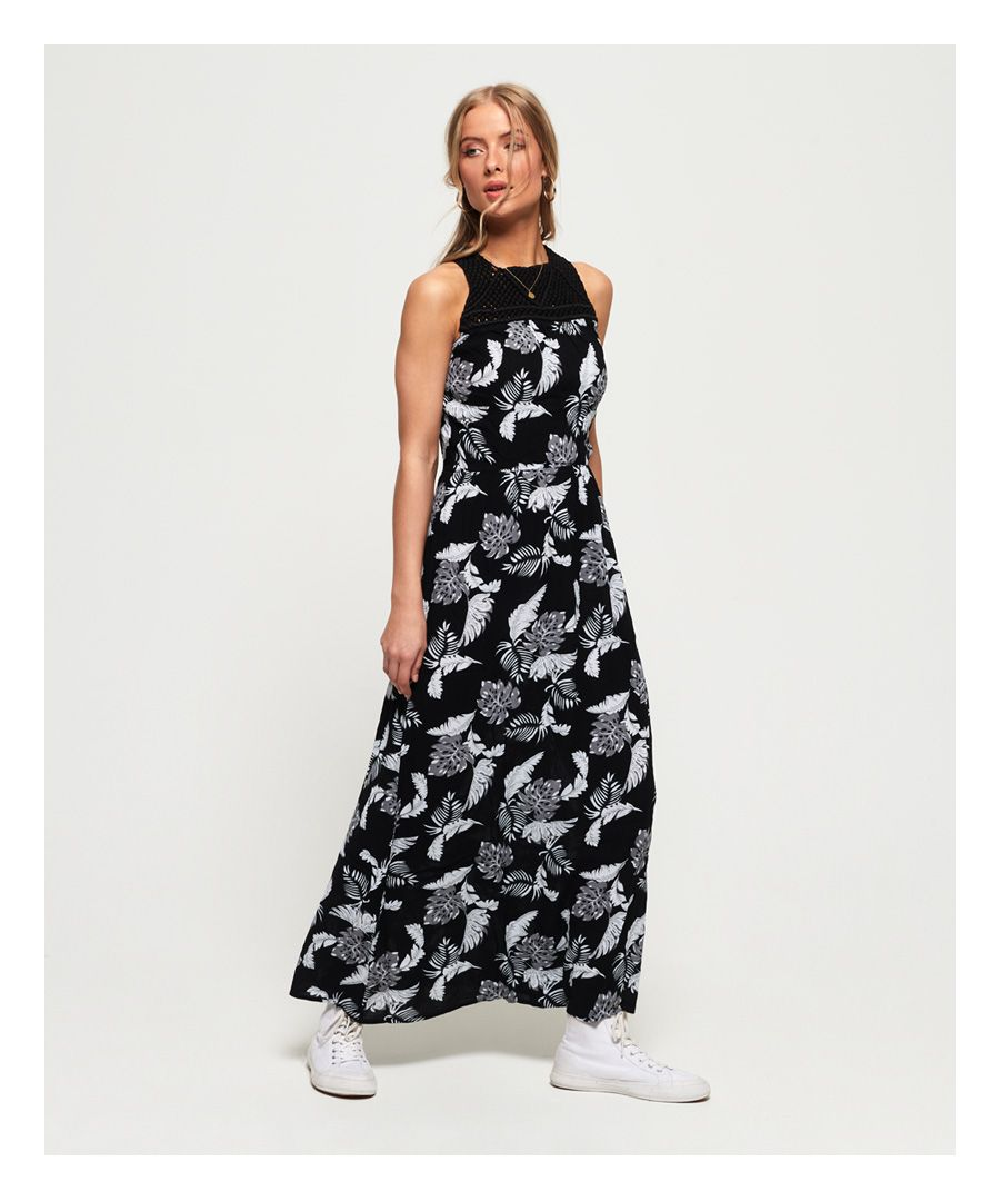 Image for Superdry Alivia Knot Maxi Dress