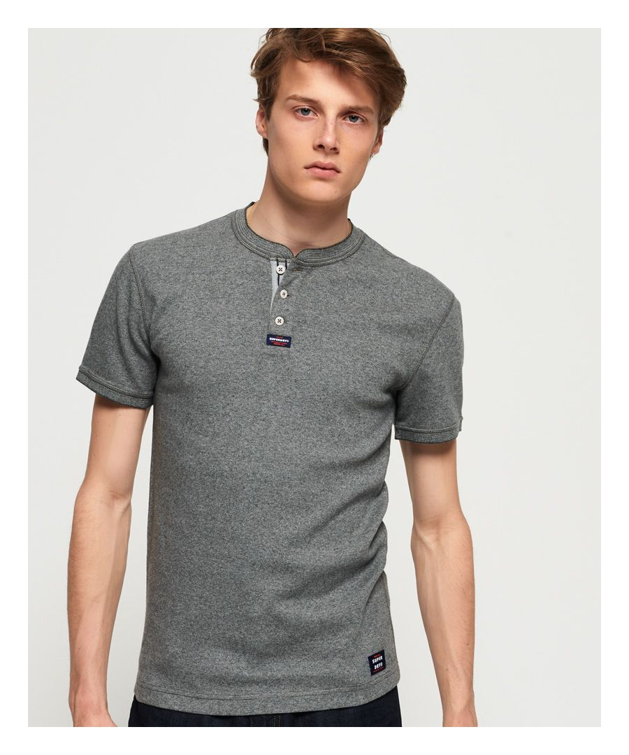 Image for Superdry Heritage Henley Top