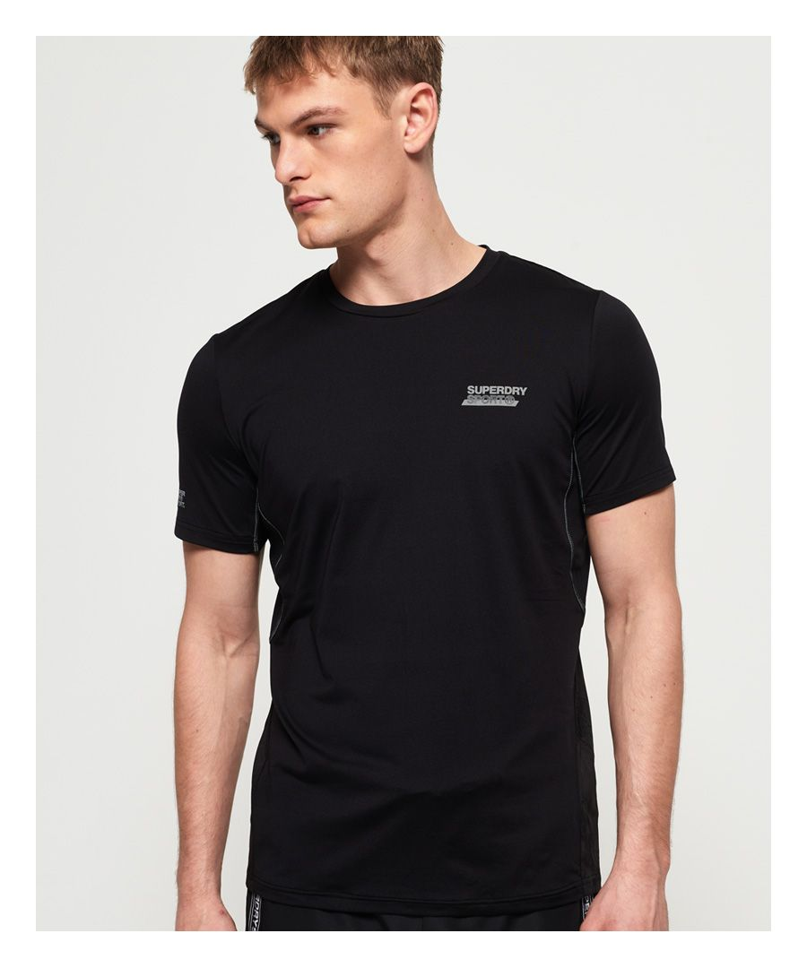 Image for Superdry Active Loose Diagonal Logo T-shirt