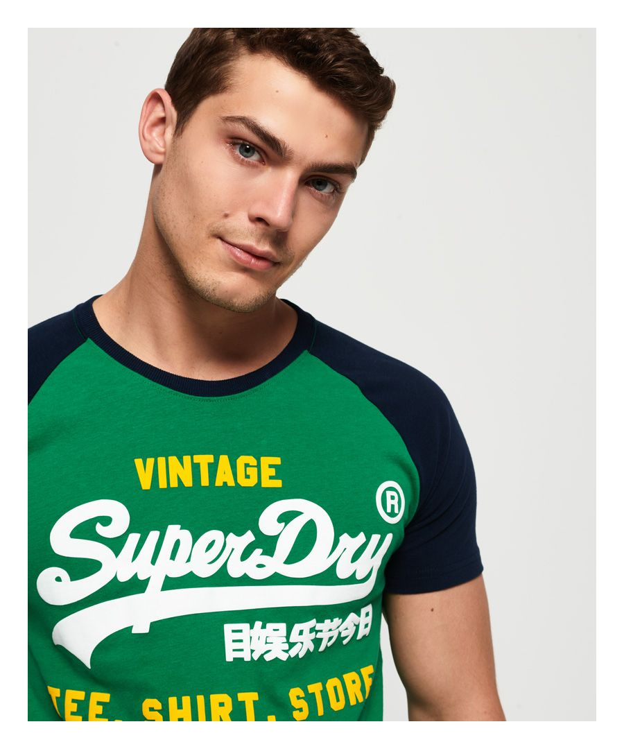 Image for Superdry Shirt Shop Duo Raglan T-Shirt