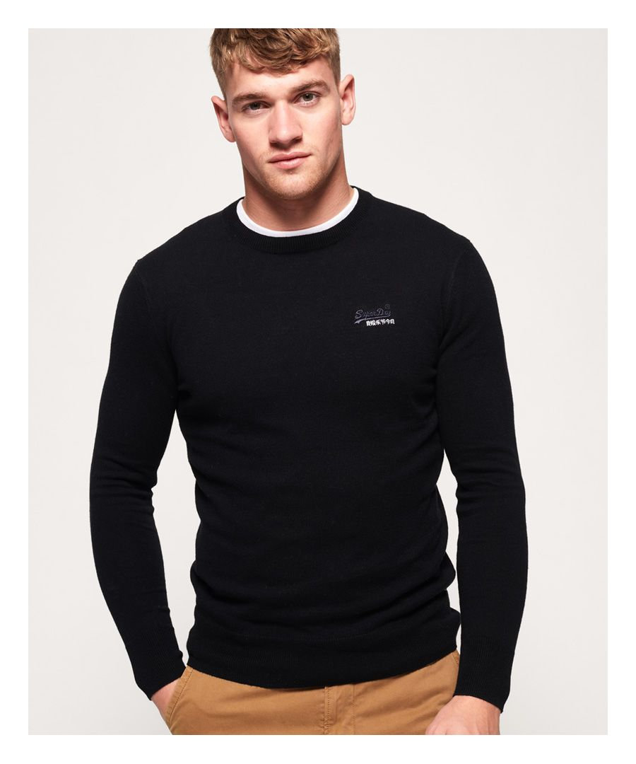 Image for Superdry Orange Label Crew Jumper