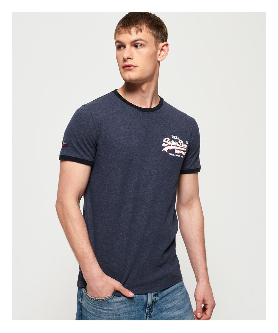 Image for Superdry Vintage Logo Ringer Cali T-shirt