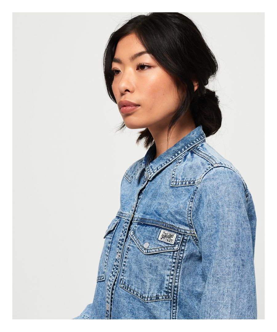 Image for Superdry Western Denim Shirt