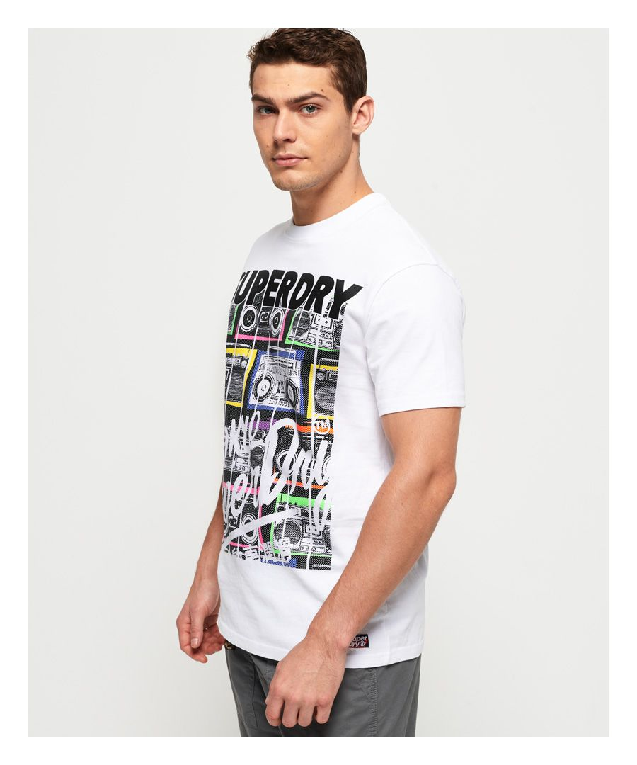 Image for Superdry Ticket Type Infill T-Shirt