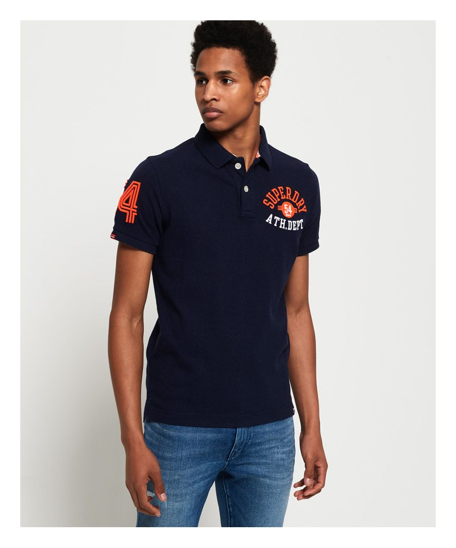 Image for Superdry Organic Cotton Superstate Classic Polo Shirt