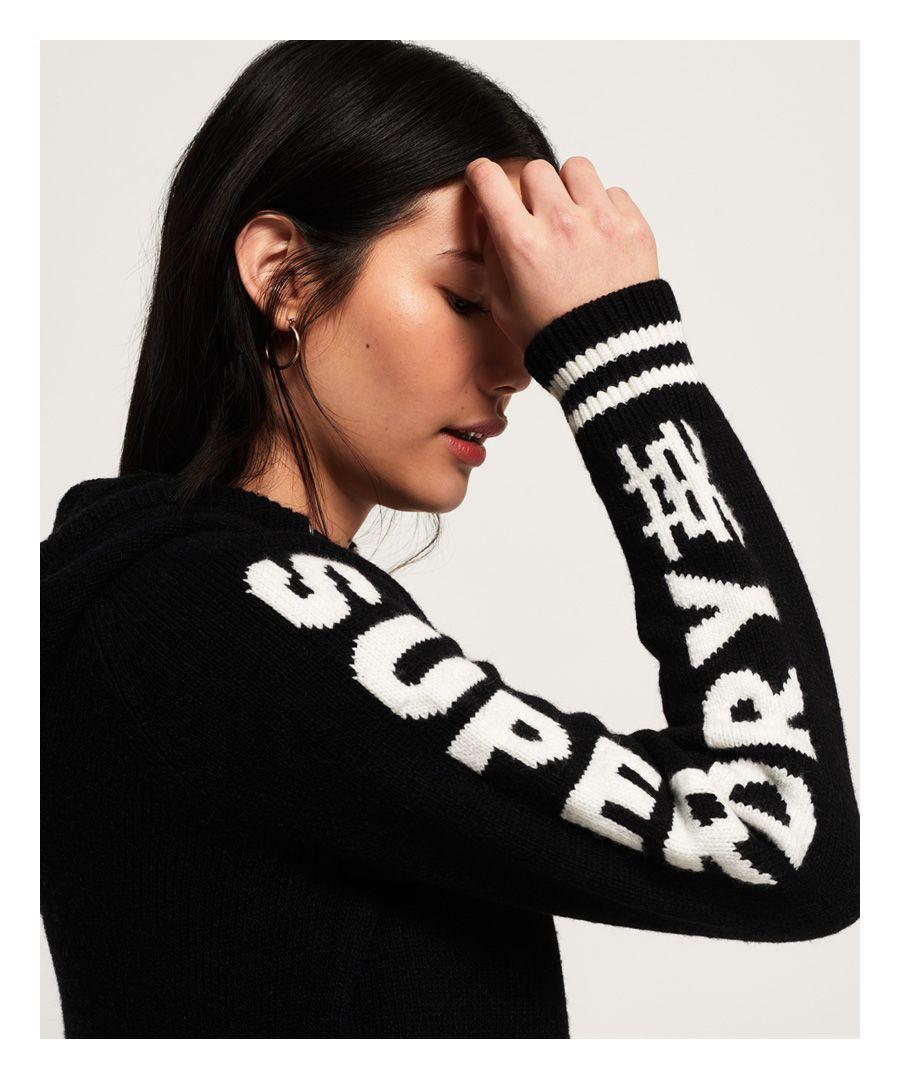 Image for Superdry Superdry Sleeve Logo Hoodie