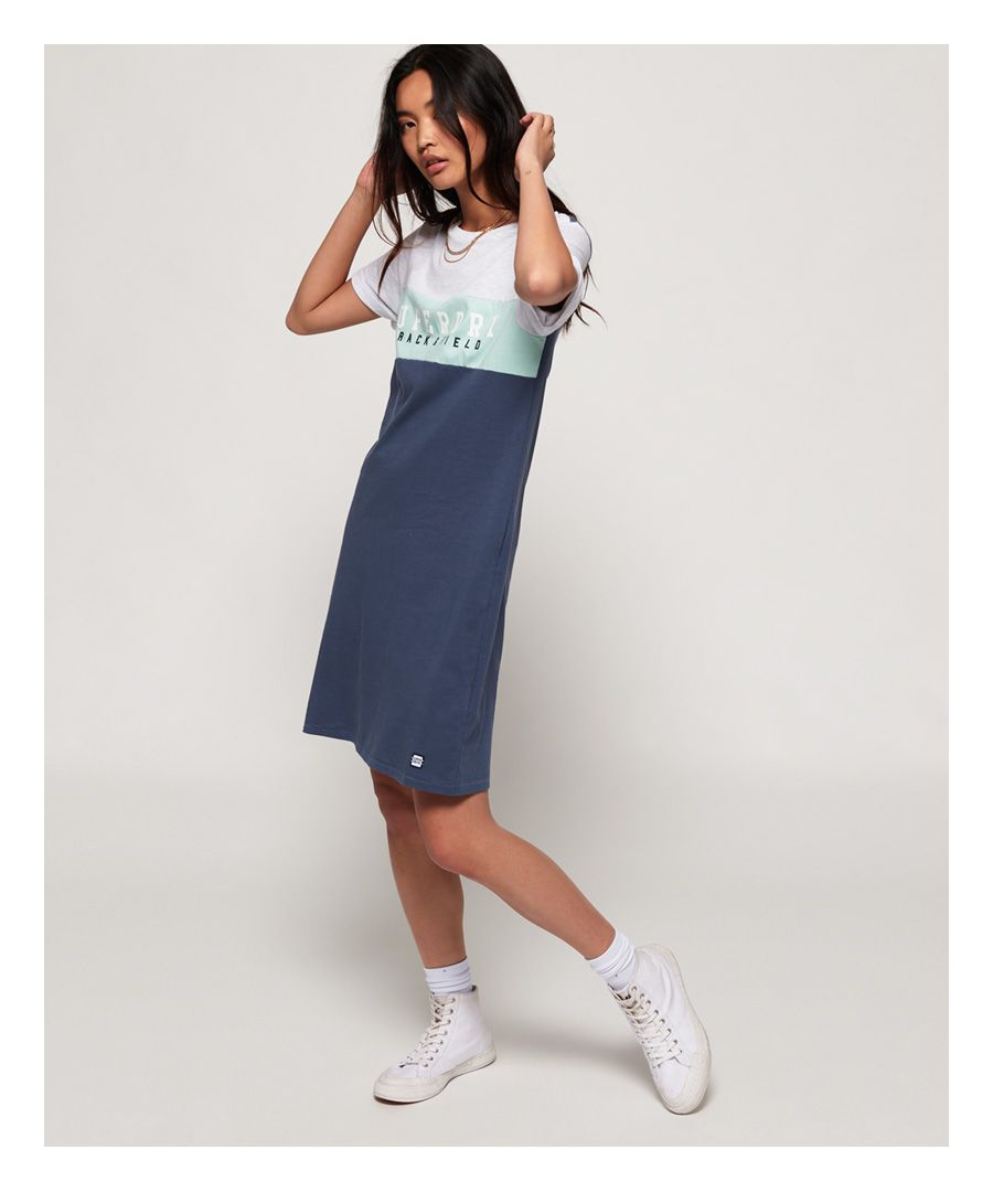 Image for Superdry Track & Field T-Shirt Dress
