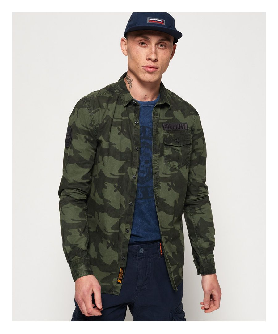 Image for Superdry Combat Long Sleeve Shirt