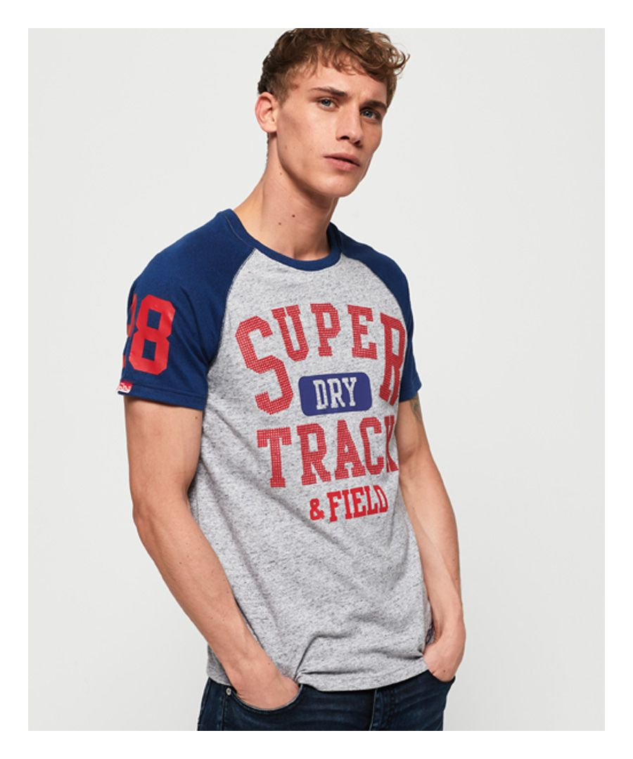 Image for Superdry Track & Field Baseball T-Shirt