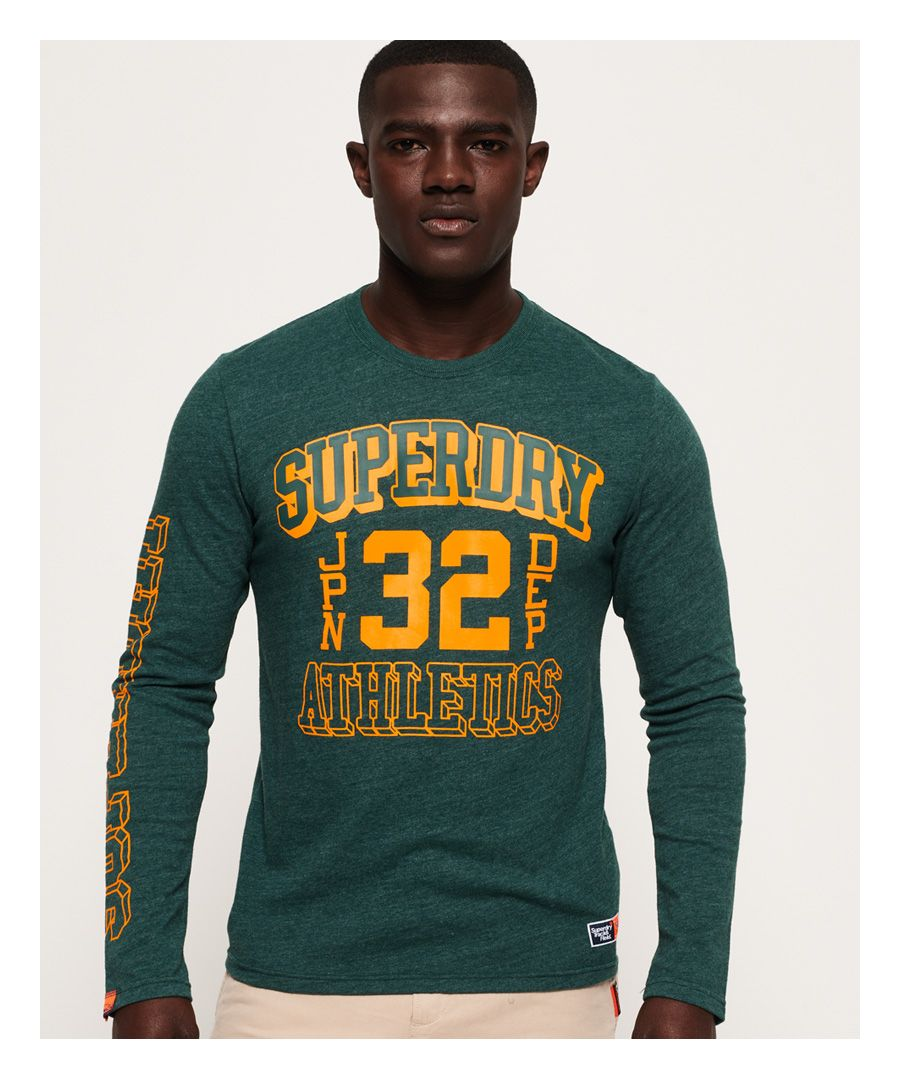 Image for Superdry Track & Field Long Sleeve T-Shirt