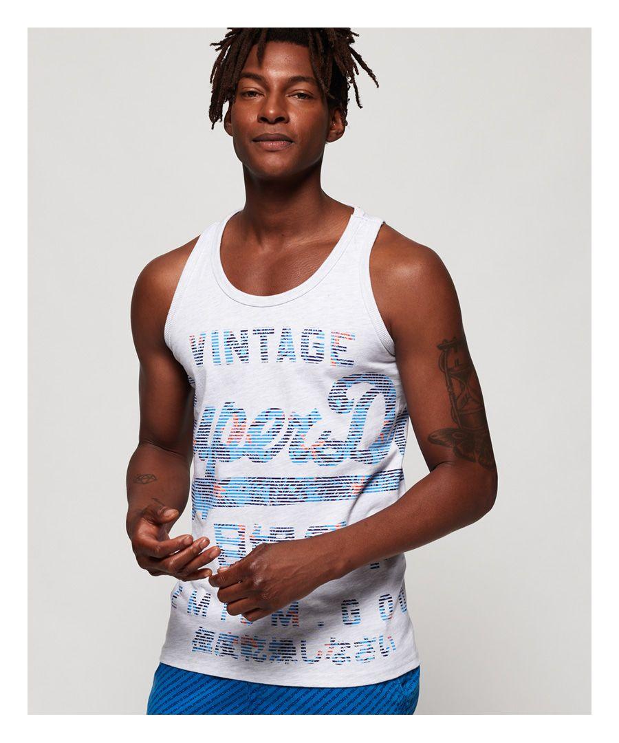Image for Superdry Premium Goods Fade Vest