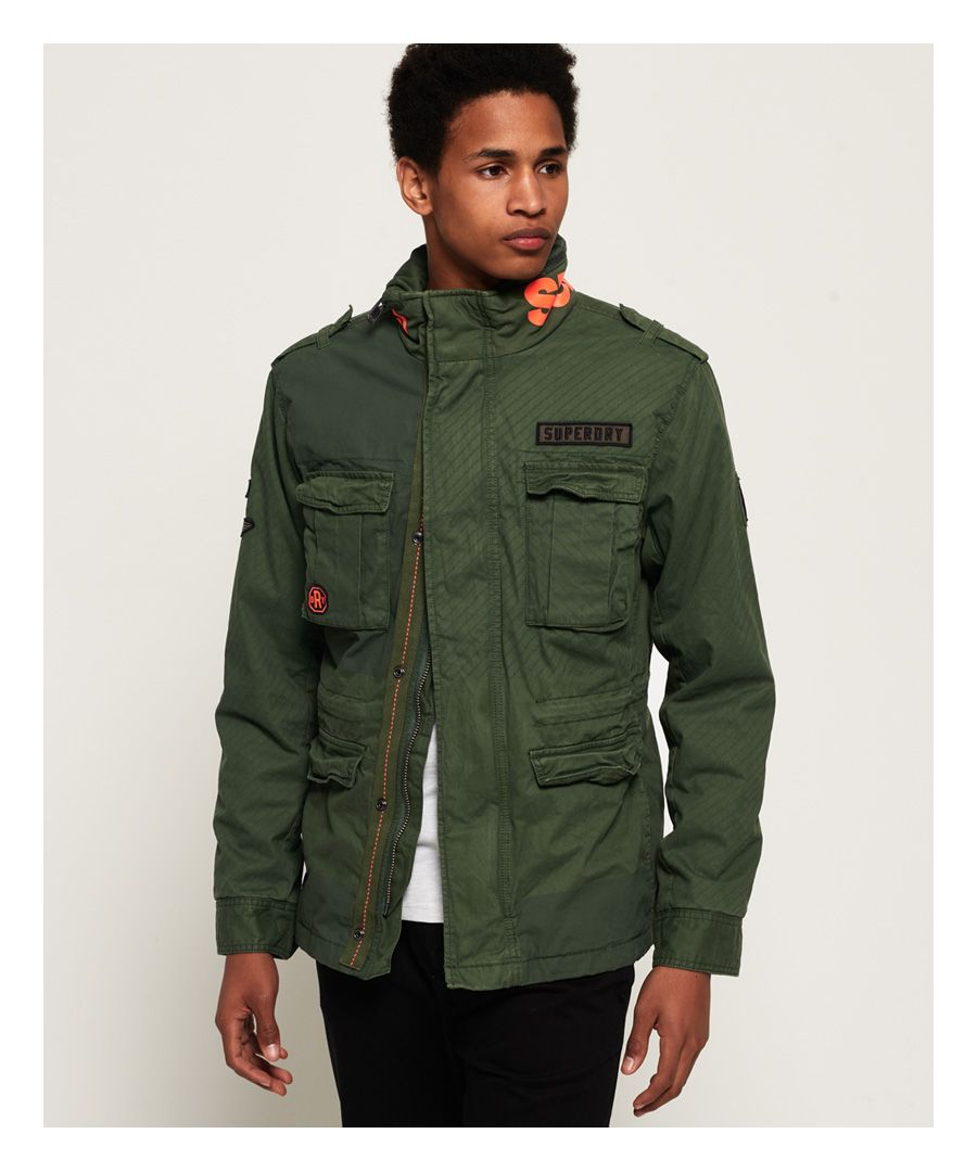 Image for Superdry Rookie Mix Four Pocket Jacket