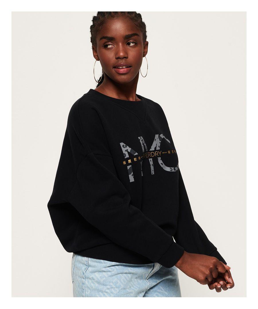Image for Superdry Jade Slouchy Crew Sweatshirt
