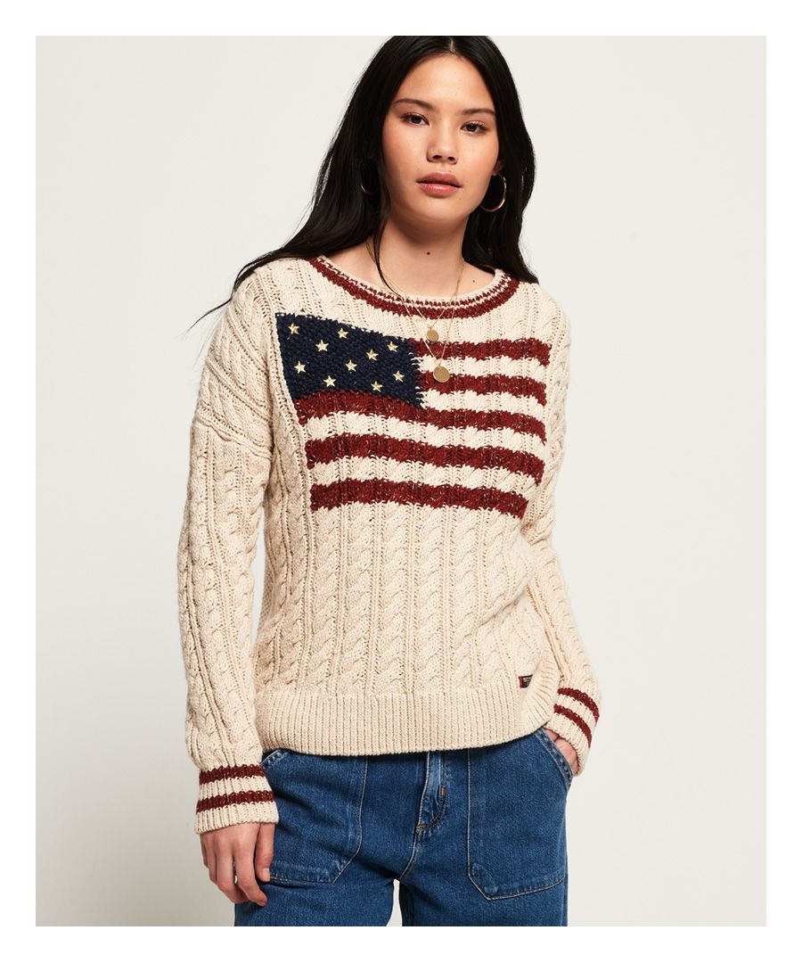 Image for Superdry American Intarsia Knit Jumper