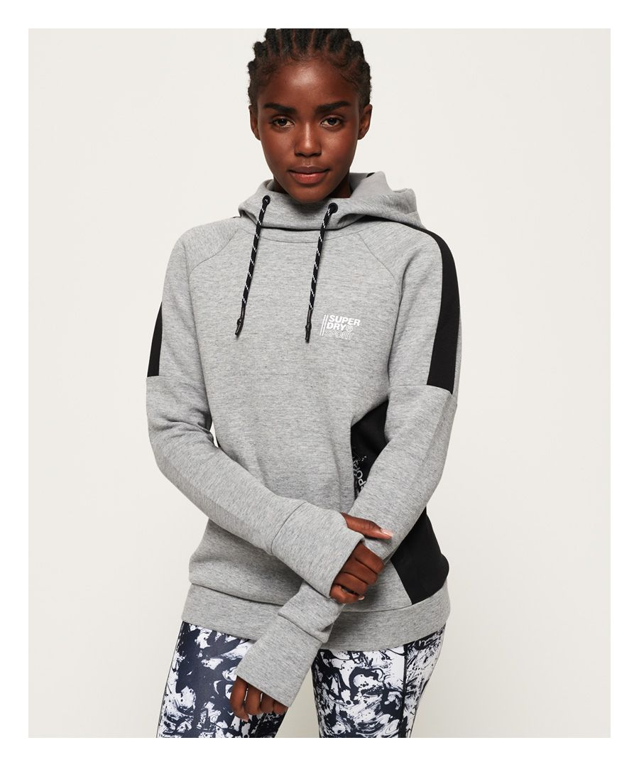Image for Superdry Core Gym Tech Slouch Hoodie