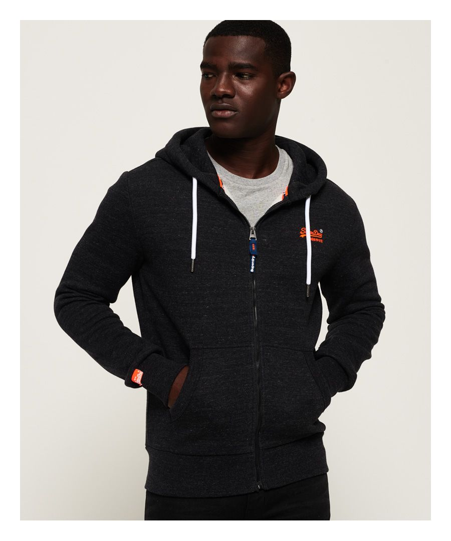 Image for Superdry Orange Label Classic Zip Hoodie