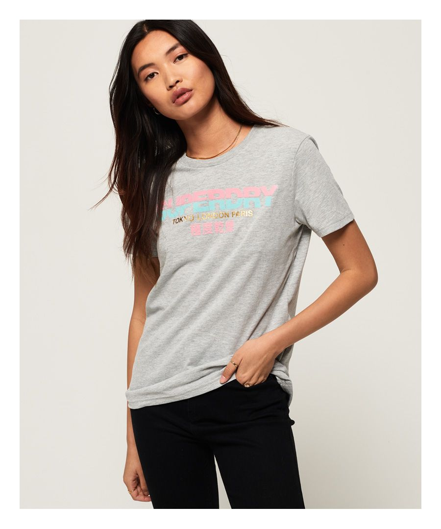 Image for Superdry City Nights Splice T-Shirt
