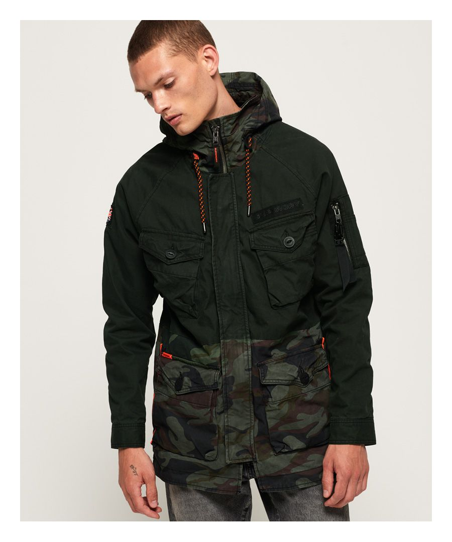Image for Superdry Rookie Panther Elevated Parka Jacket