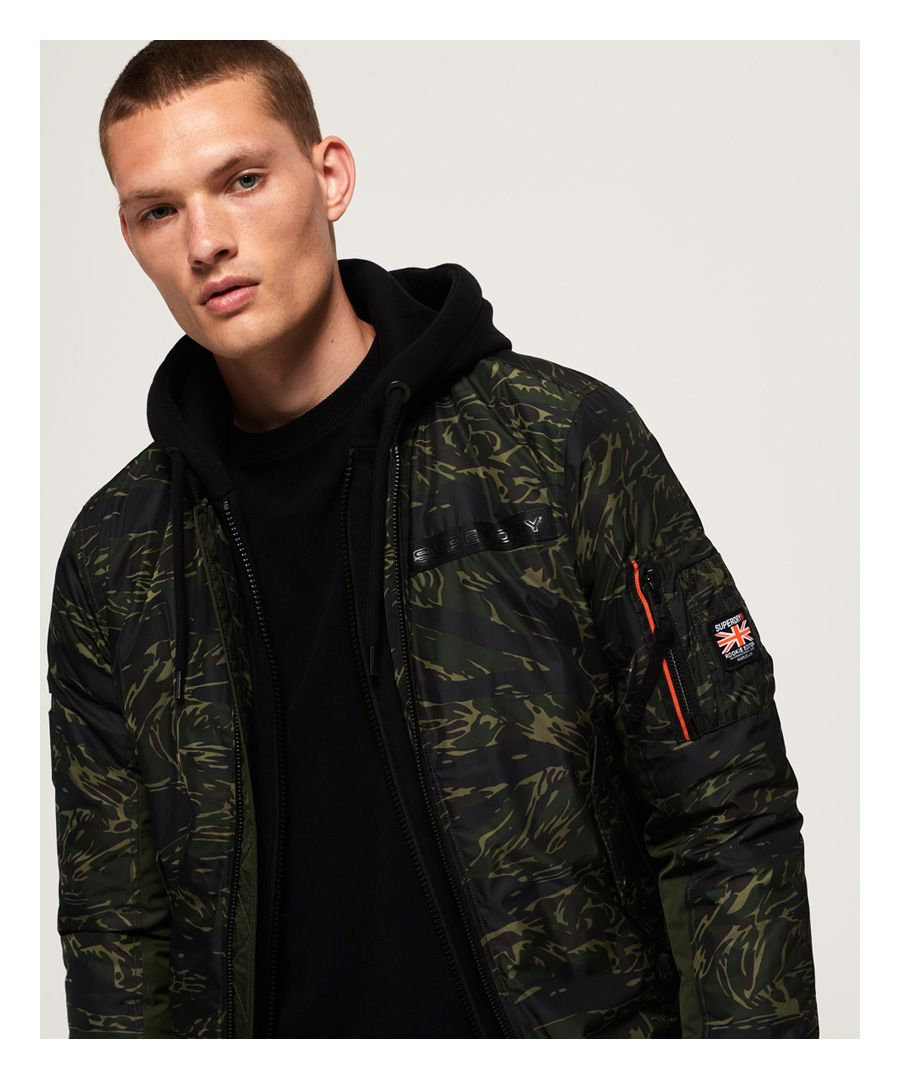 Image for Superdry Rookie Flight Bomber Jacket