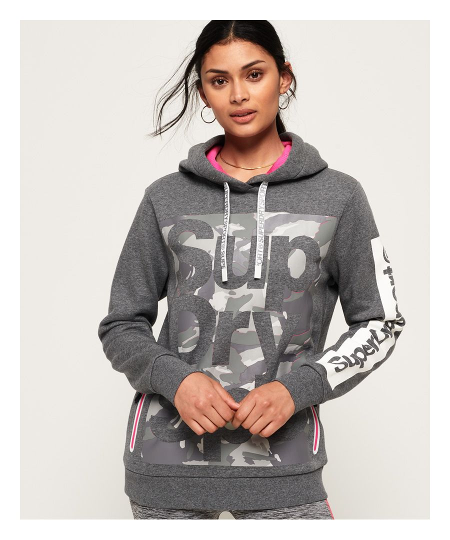 Image for Superdry Combat Boxer Longline Hoodie