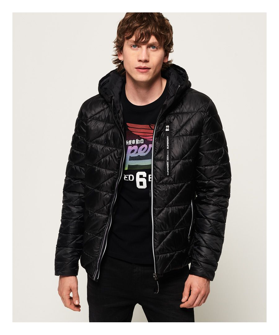 Image for Superdry Diagonal Quilt Fuji Jacket