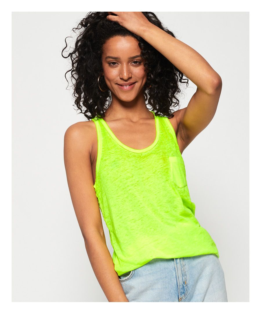 Image for Superdry Burnout Pocket Vest Top