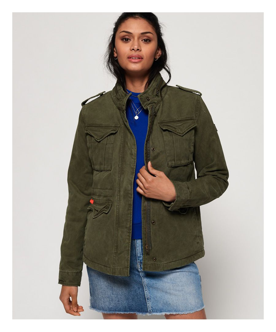 Image for Superdry Classic Winter Rookie Military Jacket
