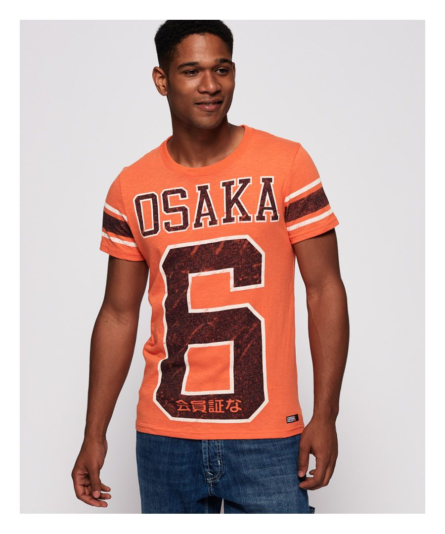 Image for Superdry Osaka 6 Quarter Back T-Shirt