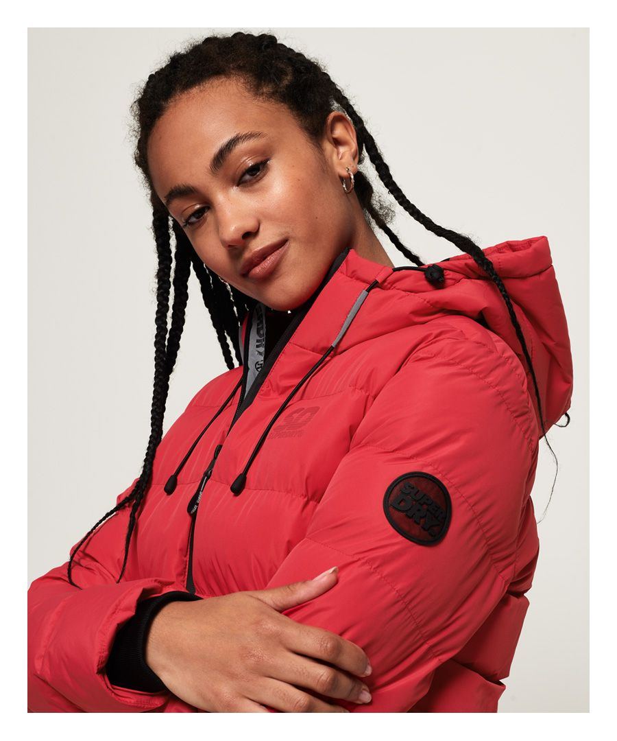 Image for Superdry Spirit Puffer Icon Jacket