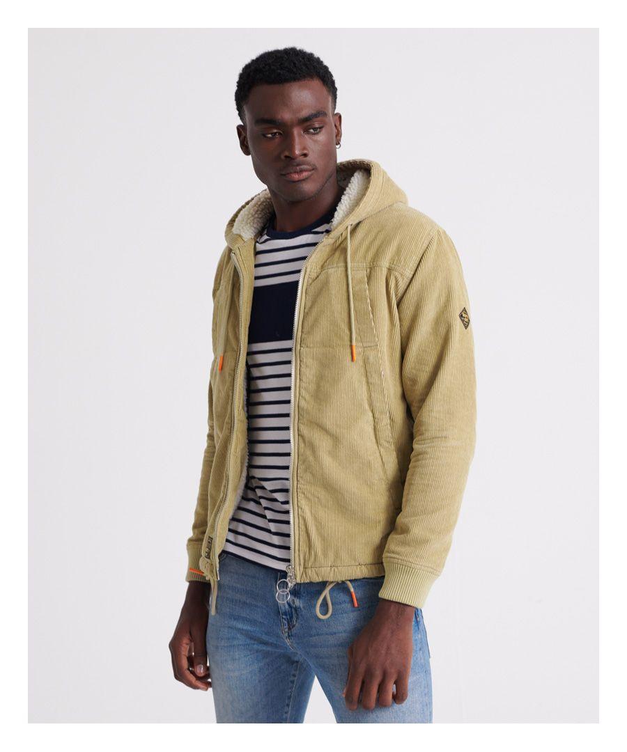 Image for Superdry Hooded Worker Jacket