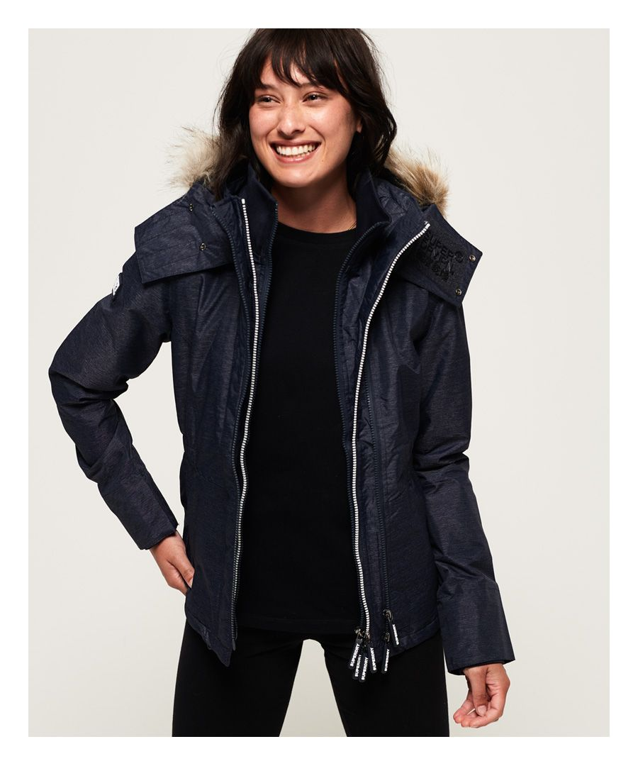 Image for Superdry Hooded Faux Fur Winter SD-Windattacker Jacket