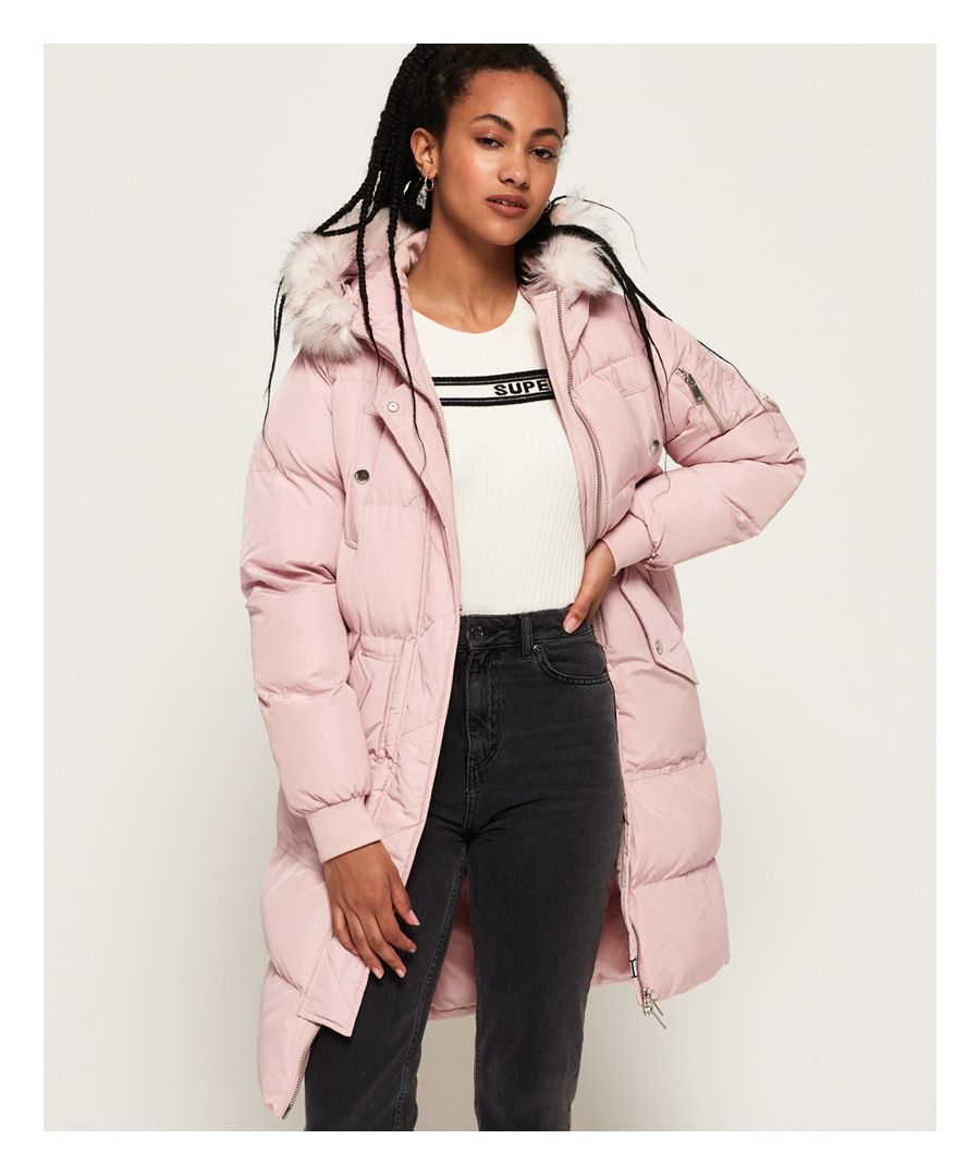 Image for Superdry Luxe Longline Puffer Jacket