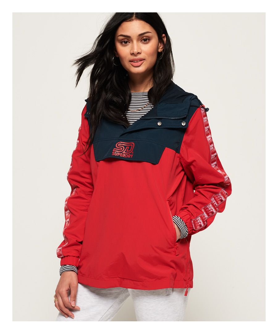Image for Superdry 90's Colour Block Overhead Jacket