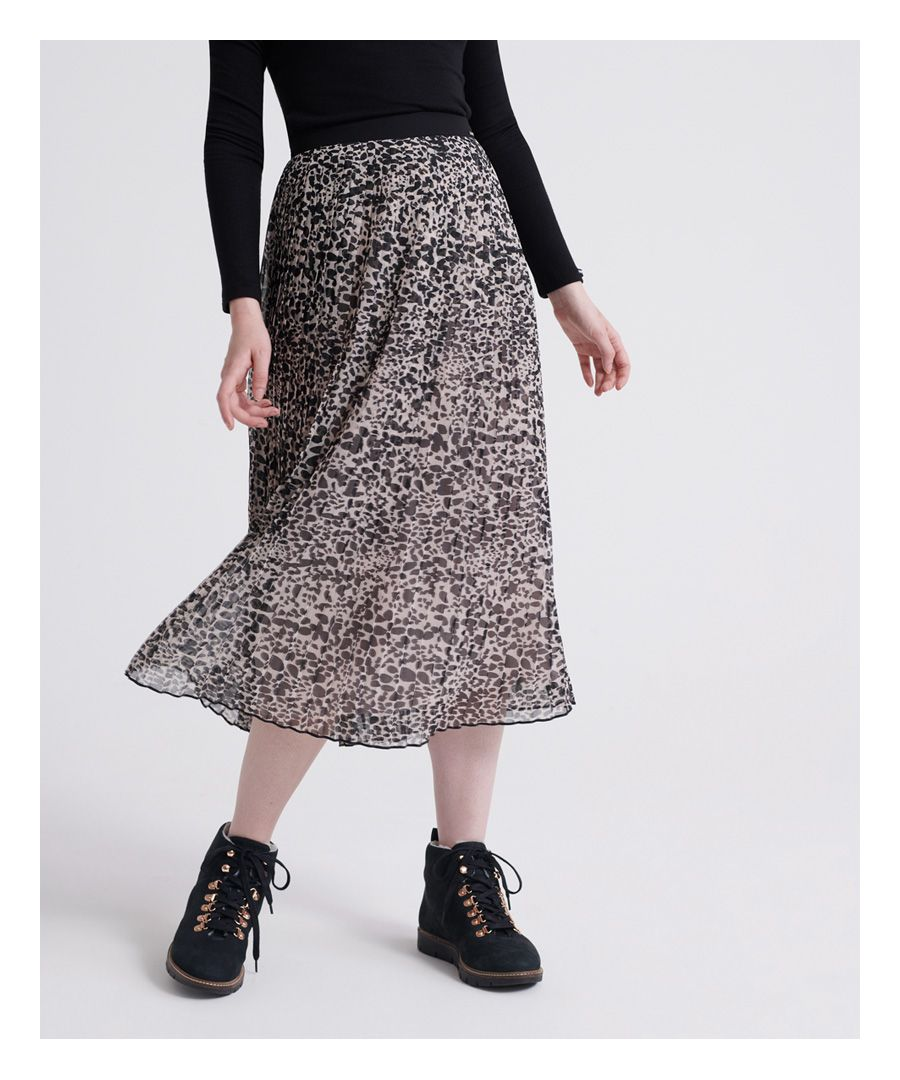 Image for Superdry Pleated Midi Skirt