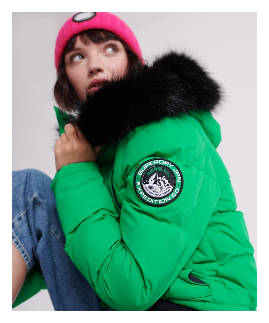 Image for Superdry Everest Ella Bomber Jacket