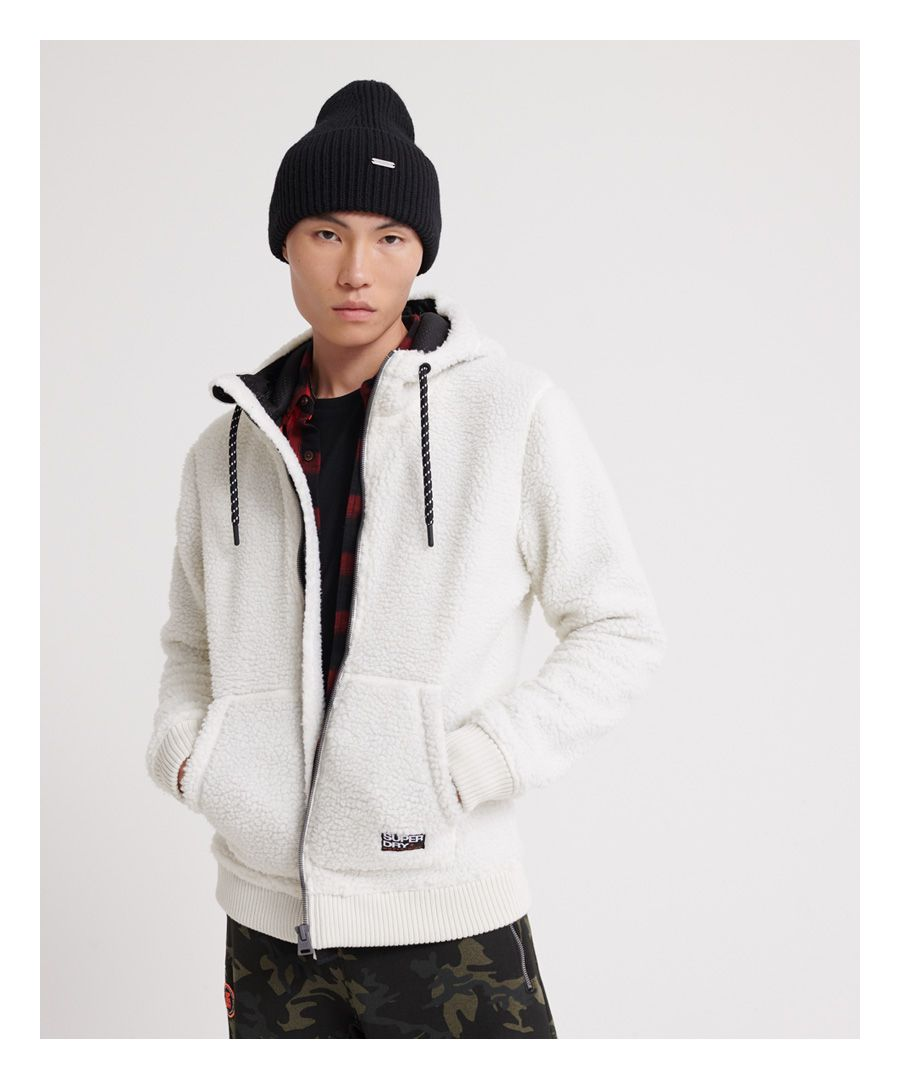 Image for Superdry Core Sherpa Zip Hoodie