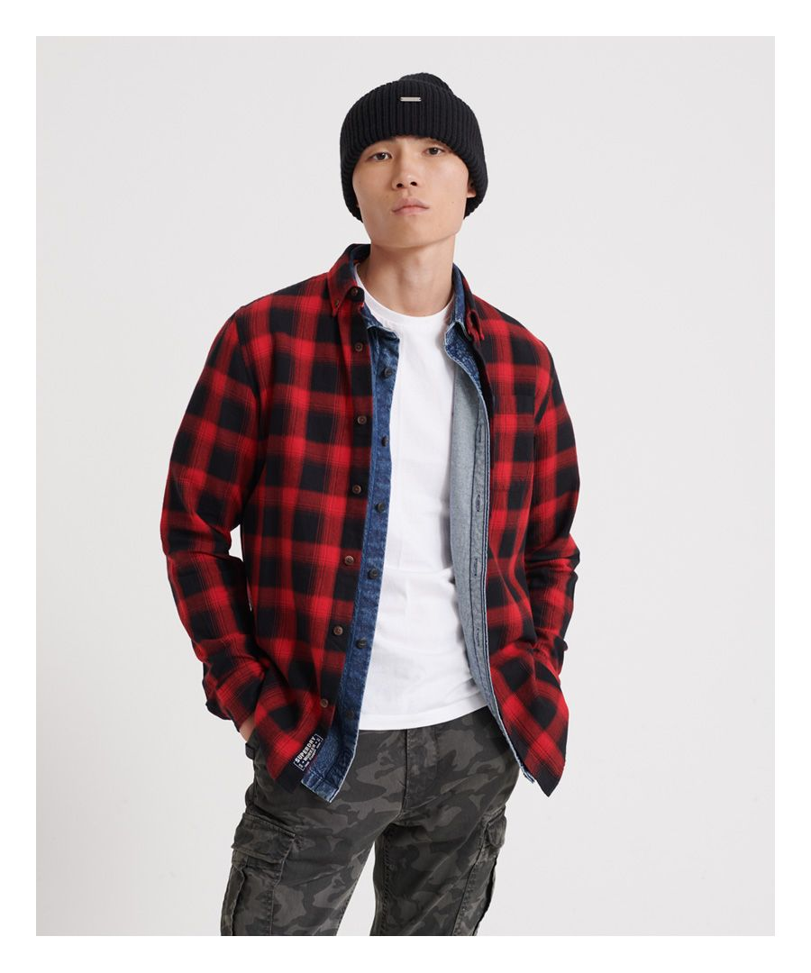 Image for Superdry Workwear Long Sleeved Shirt