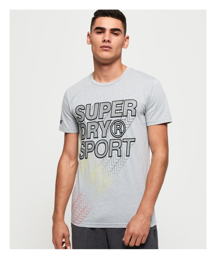 Image for Superdry Core Gradient Graphic T-shirt