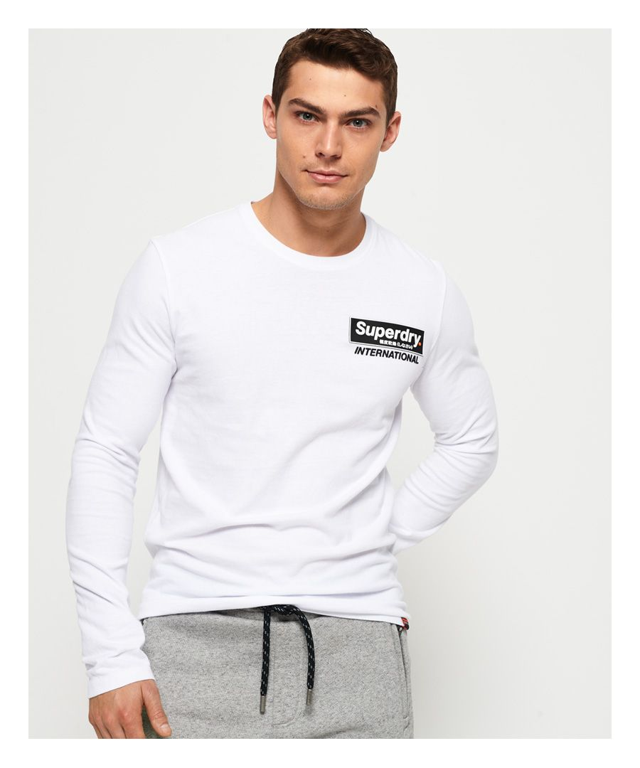 Image for Superdry International Long Sleeve T-Shirt