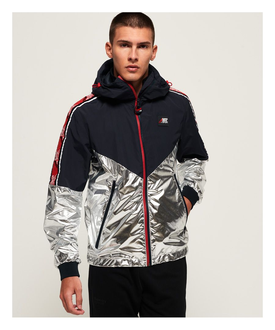 Image for Superdry Sport Stripe Chrome Cagoule