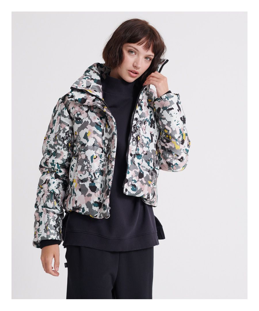 Image for Superdry Jacquard Puffer Jacket