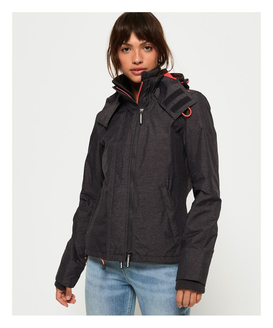 Image for Superdry Pop Zip Hooded Arctic SD-Windcheater Jacket