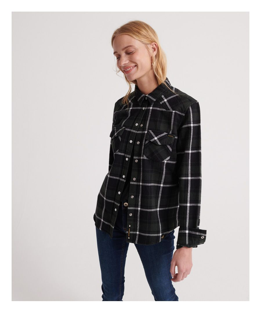 Image for Superdry Bailey Western Check Shirt