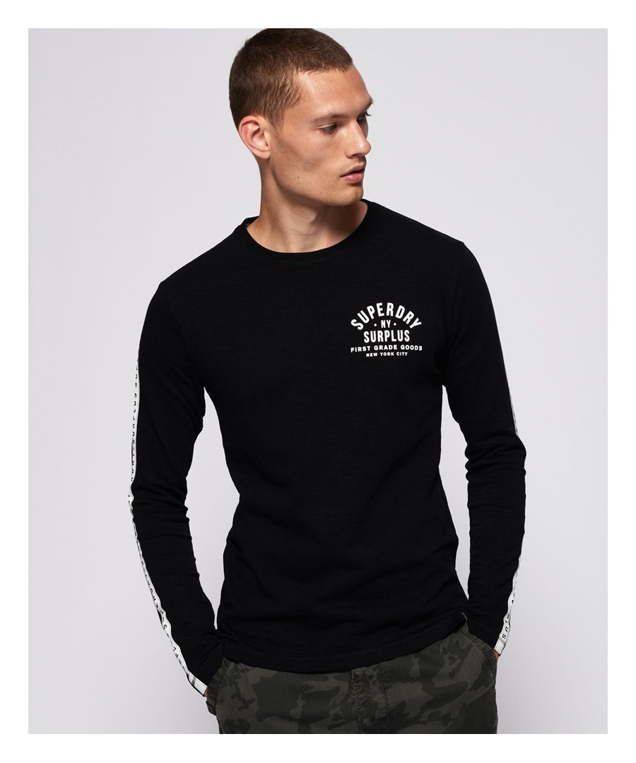Image for Superdry Surplus Goods Long sleeve Graphic T-Shirt
