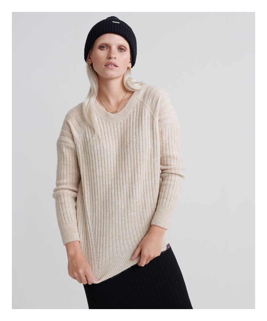 Image for Superdry Aimee Rib Jumper