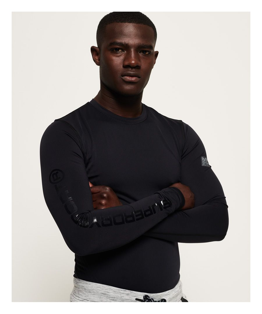 Image for Superdry Performance Flock Compression Long Sleeve T-shirt